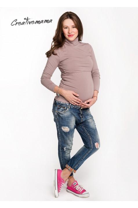 Водолазка Natural (хлопок), для беременных и кормящих