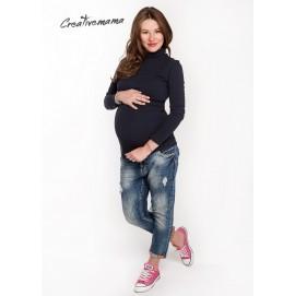Водолазка для беременных и кормящих Сreative mama Classic
