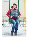 Слинг-шарф Botanica Garnet Graphite