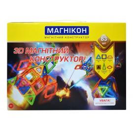 3D Магнитный конструктор Магникон MK-83