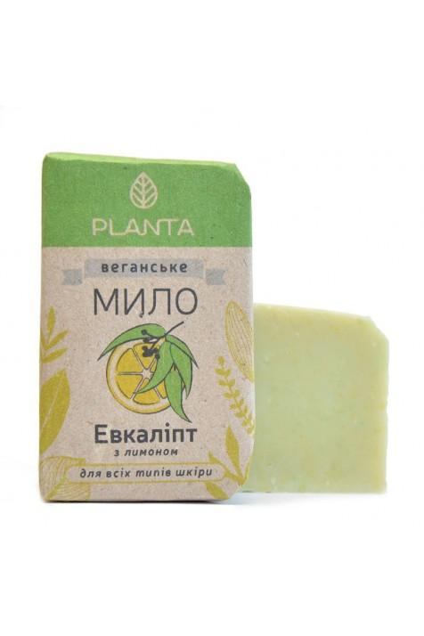 Мыло Planta Эвкалипт с лимоном 100 гр.