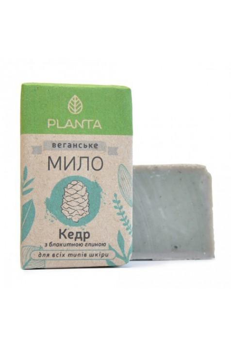 Мыло Planta Кедр с голубой глиной 100 гр