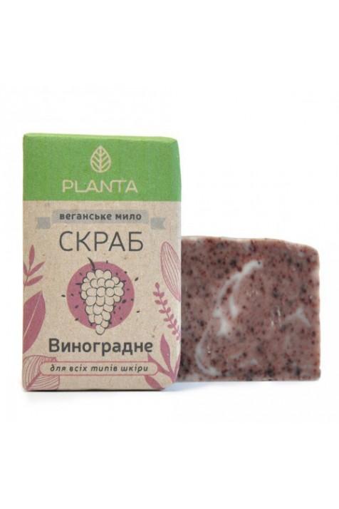 Мыло-краб Planta Виноградное 100 гр