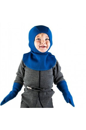 Шапка-шлем из шерсти мериноса MaM ManyMonths