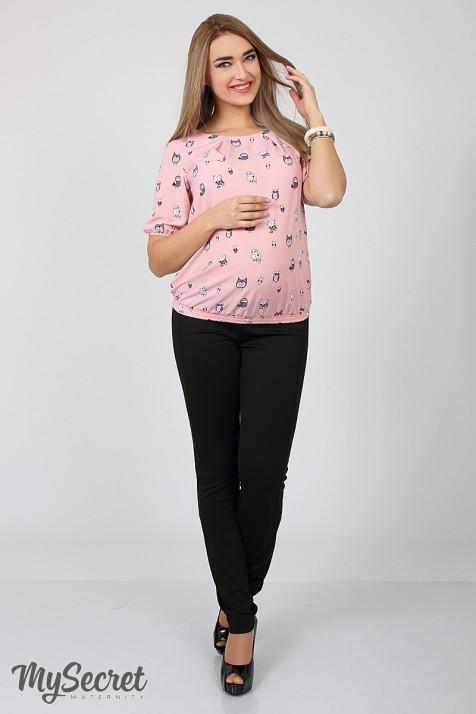 Брюки для беременных Юла Мама Vogue light арт. TR-17.011 черные