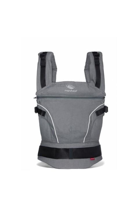 Эрго рюкзак Manduca Pure Cotton DARK Grey темно-серый