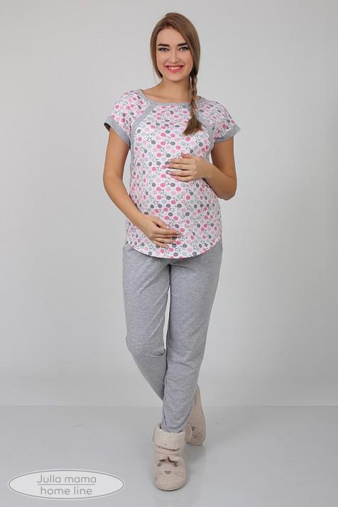 Пижама для беременных и кормления Юла Maмa Relax арт. NW-5.5.1