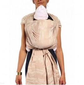 Тканный слинг шарф NEOBULLE Jacquard Deauville Sable