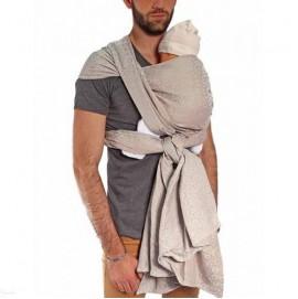 Тканный слинг шарф NEOBULLE Jacquard Dune Сiel