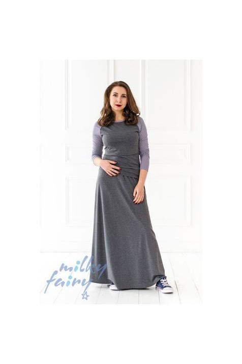 Реглан с длинным рукавом, для кормящих мам