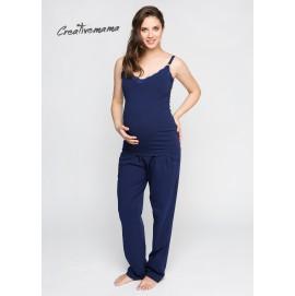 Топ для беременных и кормящих Creative Mama Azurro