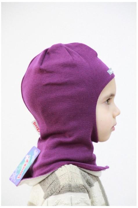 Демисезонный шлем Beezy арт.1511 лиловый