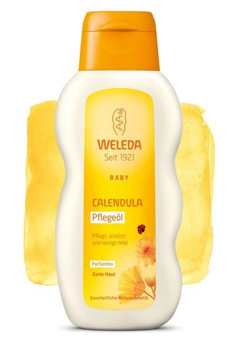 Масло для младенцев Weleda Календула 200 мл