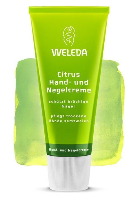 Цитрусовый питательный крем для рук и ногтей Weleda 50 мл
