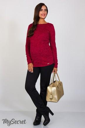 Теплые брюки для беременных Юла Мама Erin warm арт. TR-47.121