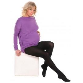 Теплі колготки для вагітних 360 Den Mamma Lux, арт. 704 чорні