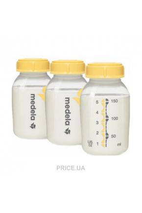 Бутылочки для сбора и хранения грудного молока Medela Kaizer 3шт по 150 мл