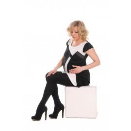 Колготки для вагітних 150 Den Mamma Lux арт. 711 чорні