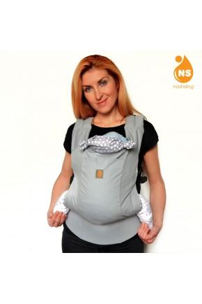 Эрго рюкзак Nash sling Optima - Сильвер св.серый
