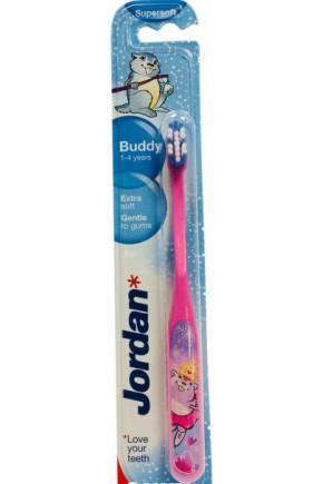 Зубная щетка для молочных зубов Jordan Buddy 1-4 года