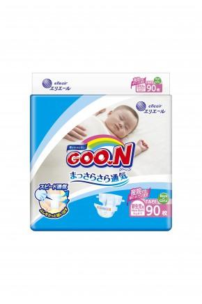 Подгузники для новорожденных Goo.N унисекс до 5 кг 90 шт