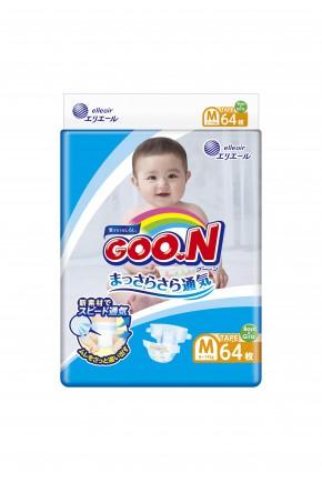 Подгузники для детей Goo.N унисекс 6-11 кг 64 шт