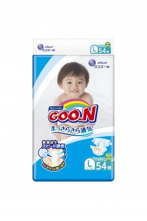 Подгузники для детей Goo.N унисекс 9-14 кг 54 шт