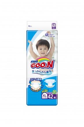 Подгузники для детей Goo.N унисекс 12-20 кг 42 шт