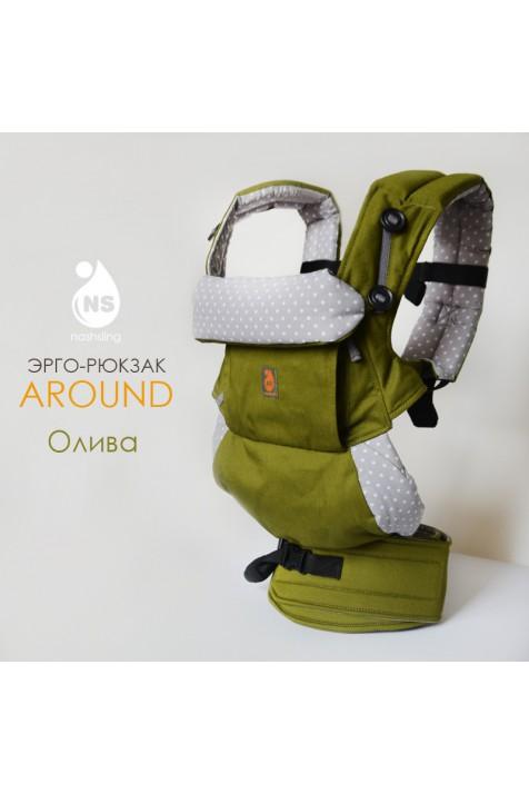 Эрго рюкзак Nash sling - Around 360 Олива