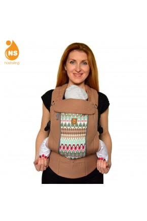 Эрго-рюкзак с вентиляционной сеткой Nashsling Climate Control - Версаль