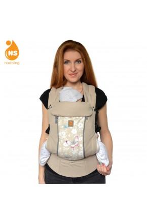 Эрго-рюкзак с вентиляционной сеткой Nashsling Climate Control - Бабочки