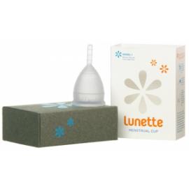 Менструальная чаша LUNETTE прозрачная