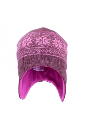 Шапка шлем з вовни мериноса Софія