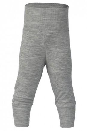 Штаны на флисе Engel из мериносовой шерсти серый меланж