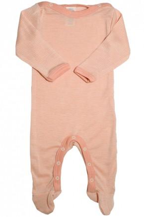 Человечек детский Engel из шерсти и шёлка розово-бежевый