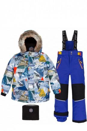 Зимний комплект для мальчика Deux par Deux R821/491