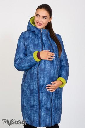 Пальто для беременных Юла Mama Kristin OW-47.032 двухстороннее