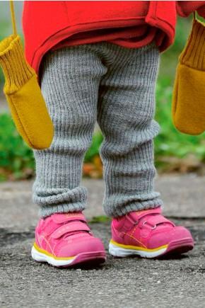 Рейтузы для детей Disana серые из 100% шерсть мериноса