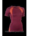 Женская спортивная футболка, шерсть/шелк