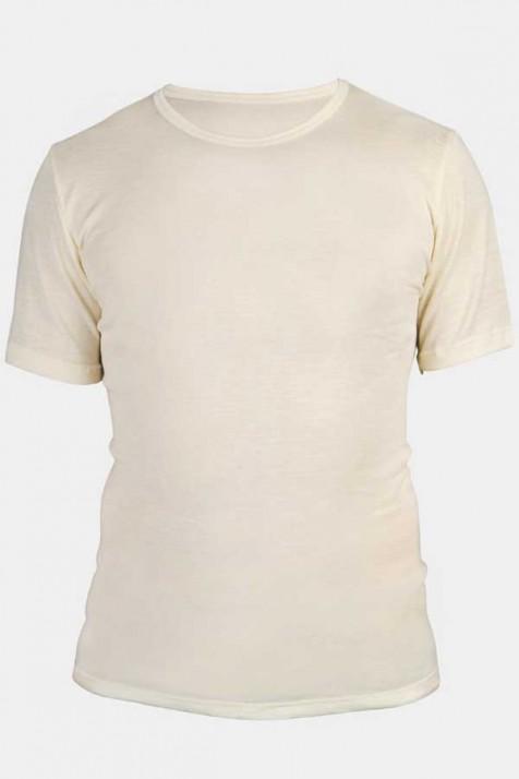 Мужская футболка, шерсть/шелк