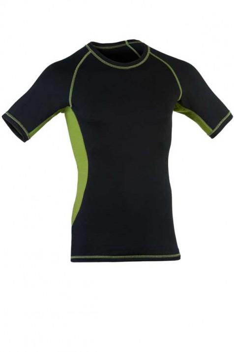 Мужская спортивная футболка, шерсть/шелк