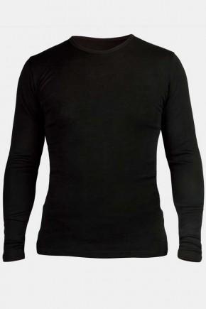 Мужская кофта Engel из шерсти и шелка черная