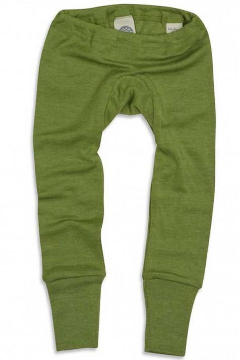 Штанишки шерсть/шелк, зеленый, Cosilana