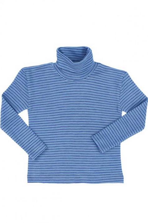 Гольф из 100% шерсти, голубой Cosilana