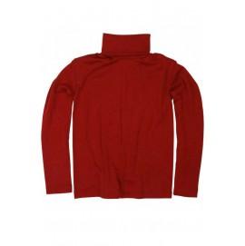 Гольф из шерсти и шелка красный, Cosilana