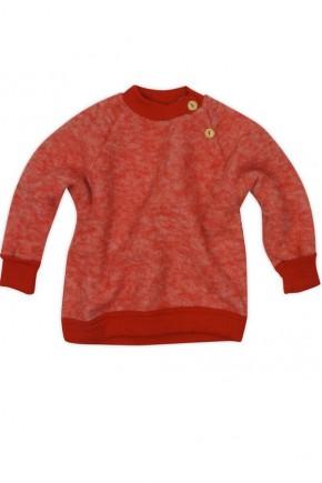 Купить Флисовый реглан Cosilana на пуговицах арт. 46931 красный
