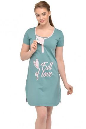 Ночная рубашка для беременных Мамин Дом Clover