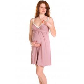 Нічна сорочка для вагітних або годуючих Mamma Lux арт. 804