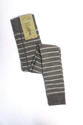 Термолеггинсы детские Groedo 74089 серый в полоску