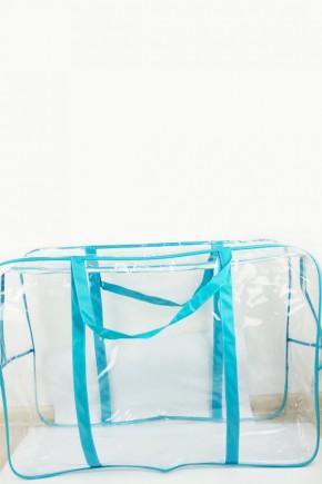 Сумка в роддом Экосумка маленькая голубая